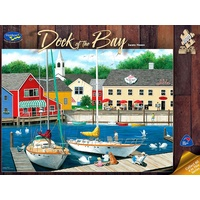 Holdson 1000pc Dock Of The Bay Swans Heven 770625