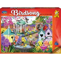 Holdson 1000pc Birdsong Home In A Victorian garden