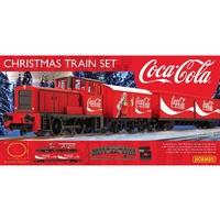"Hornby OO Christmas Coca Cola ""Coke"" Train Set"