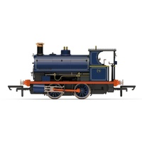 Hornby OO Port of London Authority, Peckett W4 Class, 0-4-0ST, No.74