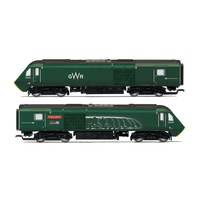 Hornby OO GWR, Class 43 HST, Power Cars 43093 'Old Oak Common' and 43016