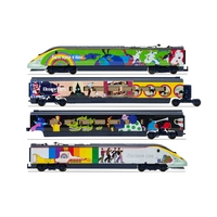 "Hornby OO Eurostar Class 373 Set 3005/3006 ""Yellow Submarine"" Train Pack"