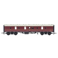 Hornby OO Railroad BR Maroon MK1 Parcels Coach