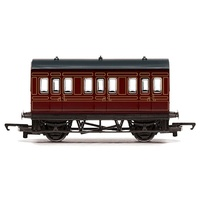 Hornby OO Railroad LMS 4 Wheel Coach