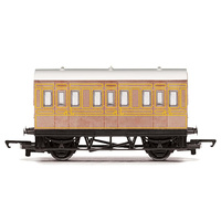 Hornby OO Railroad 4 Wheel LNER Coach