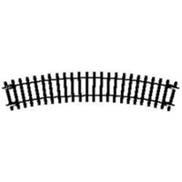 Hornby OO Curve 2nd Radius Standard 438mm 22.5 Degrees