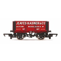 Hornby OO 6 Plank Wagon Jeayes Kasner & Co