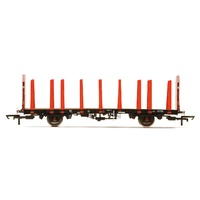 Hornby OO Ews, Ota Timber Wagon (Tapered Stanchions), 200763 - Era 9