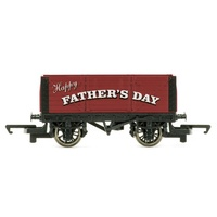 Hornby OO Fathers Day Plank Wagon