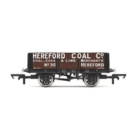 Hornby OO 5 Plank Wagon 'Hereford Coal Company' No. 35