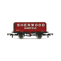 Hornby OO 7 Plank Wagon 'sherwood Colliery' No. 47