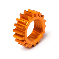 HPI Threaded Pinion 18TX 12mm Orange