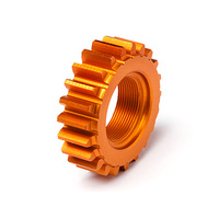Hpi Threaded Pinion 22Tx12mm (1M) (Orange)
