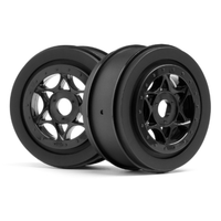 HPI AH-64 Wheel Black (42x83mm/2pcs) HPI-107384