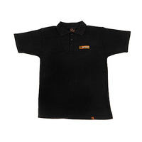 HPI Classic Polo Shirt (Black/Adult/Medium) HPI-107470