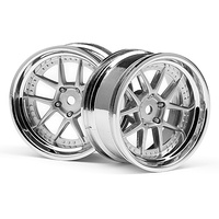 HPI DY-Champion 26MM Wheel (Chrome/Silver/6MM OS/2pcs) HPI-111276
