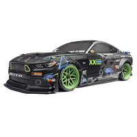 HPI 115984 RS4 Sport 3 VGJR Mustang Monster Nitto 1/10 4WD Electric Car