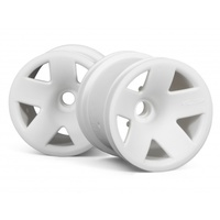 HPI Rim 2.2in Truck Split F5 Wheel Front White HPI-3040