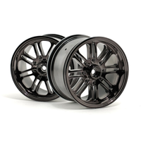 HPI 8 Spoke Wheel Black Chrome 8