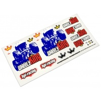HPI Wheely King Decal Sheet HPI-9931