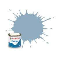 Humbrol Enamel 128 US Grey Satin 14mL Paint