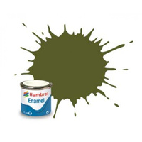 Humbrol Enamel 149 Dark Green Matt 14mL Paint