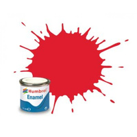 Humbrol Enamel 19 Bright Red Gloss 14mL Paint