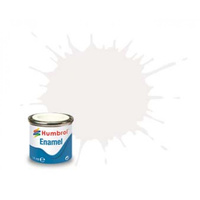 Humbrol Enamel 22 White Gloss 14mL Paint