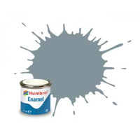 Humbrol Enamel 87 Steel Grey Matt 14mL Paint