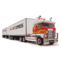 Highway Replicas 1/64 Freight Road Train Prime Mover, Dolly & 2x Trailer Diecast Truck