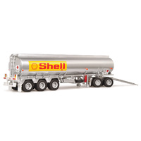 Highway Replicas 1/64 Tanker Trailer & Dolly (Shell) Diecast