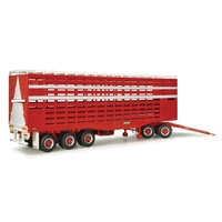 Highway Replicas 1/64 Livestock Trailer With Dolly - Due 2nd QTR 2020
