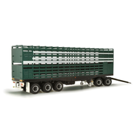 Highway Replicas 1/64 Dolly & Trailer for Road Train Green