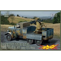 IBG 35005 1/35 EINHEITS DIESEL with 3,7 cm BREDA Plastic Model Kit