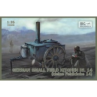 IBG 35008 1/35 German small field kitchen Hf.14 (kleine Feldkuche 14) Plastic Model Kit