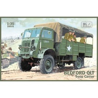 IBG Models 1/35 Bedford QLT troop carrier 72552 Plastic Model Kit