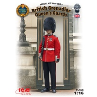ICM 1/16 British Grenadier Queen's Guards 16001 Plastic Model Kit