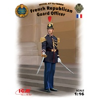 ICM 1/16 French Republican Guard Officer 16004 Plastic Model Kit
