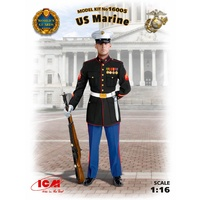 ICM 1/16 US Marines Sergeant 16005 Plastic Model Kit