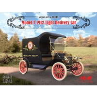 ICM 1/24 Model T 1912 Light Delivery Car 24008 Plastic Model Kit