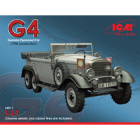 ICM 1/24 Type G4 (1935 production), WWII German Personnel Car 24011 Plastic Model Kit