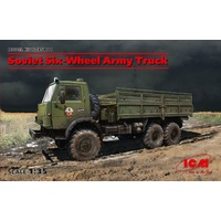 ICM 1/35 Soviet Six-Wheel Army Truck 35001 Plastic Model Kit