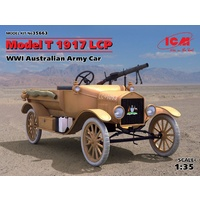 ICM 1/35 Model T 1917 LCP, WWI Australian Army Car 35663 Plastic Model Kit