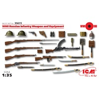 ICM 1/35 WWI Russian Infantry Weapon and Equipment 35672 Plastic Model Kit