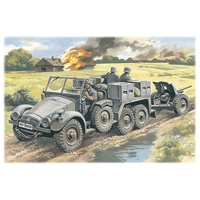 ICM 1/72 Krupp L2H143 Kfz.69 with Pak 36 72461 Plastic Model Kit