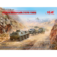 ICM 1/72 Afghan Motorcade (1979-1989) DS7201 Plastic Model Kit