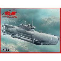 ICM 1/72 U-boat Type XXVIIB Seehund (late) WWII Ge