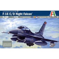 Italeri 1/72 F-16 C/D Night Falcon