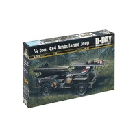 Italeri 1/35 Ambulance Jeep