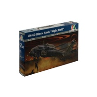 Italeri 1/72 UH60/MH60 Blackhawk Night Raid Aust. ITA-01328
